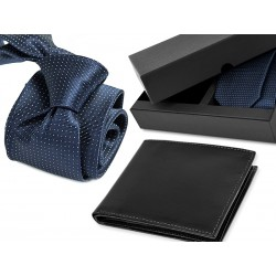 TIE CE006 + LEATHER WALLET